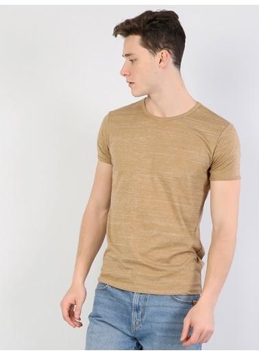 Colin's Desenli T-Shirt Kahve